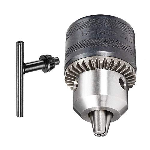 Autoly 1.5-13mm Capacity Key Drill Chuck 1/2