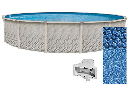 Lake Effect Meadows Reprieve 27' Round Above Ground Swimming Pool | 52