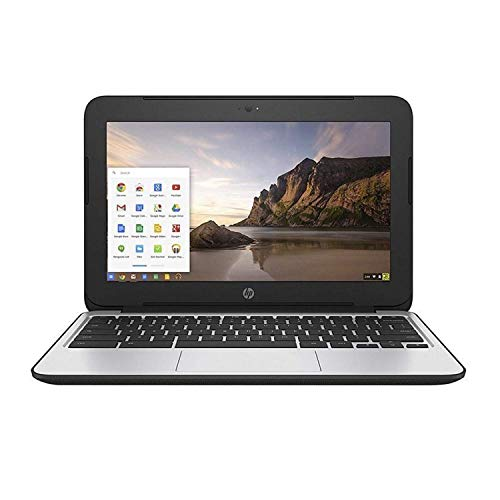 HP Chromebook 11 G3 11.6-inch Intel Celeron N2840 2GB 16GB SSD Storage Google Chrome OS Notebook Laptop (Certified Refurbished)