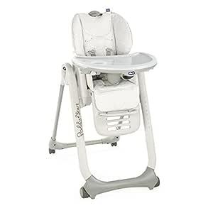 Chicco Polly 2 Start Mama Sandalyesi, Açık Gri