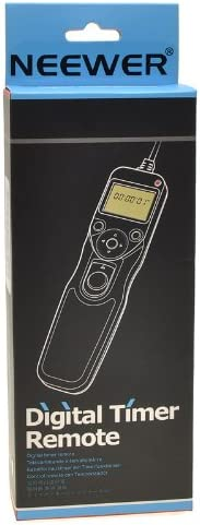 NEEWER/® Portable Digital Timer Shutter Release for Canon EOS Cameras EZA-C3