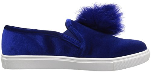 Blue by Betsey Johnson Womens Zappp Fashion Sneaker Blue Velvet i2XogTWp