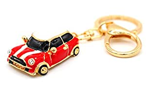 Mini Auto Cooper rojo llavero de VMG de Store: Amazon.es ...