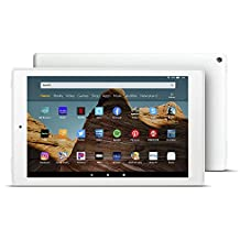 "Fire HD 10 Tablet (10.1"" 1080p full HD display, 32 GB) – White"