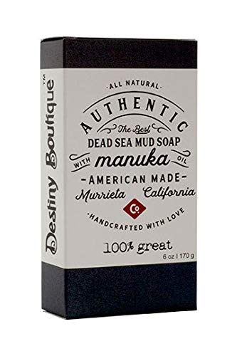 Destiny Boutique Manuka Dead Sea Bar Soap, 6 Ounce