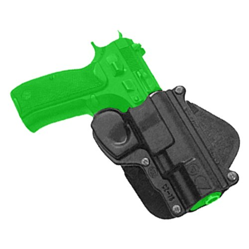 Concealed Carry Light Fobus Roto / Retention Hand Gun Holster Model CZ-75-RT. Fits to: CZ 75, 75B, 75BD, 85, cadet 22. Tactical Hard Polymer (Roto Holster Fobus Fire Arm)