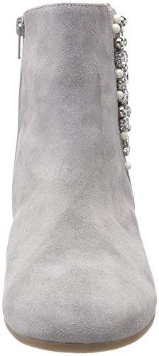 Gabor Femmes Confortable Bottines Sport Gris (gris (micro))