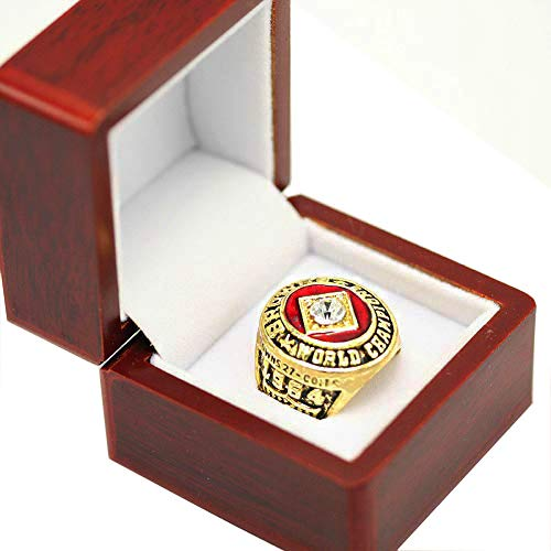 RongJ- store 1964 Jim Brown Cleveland Browns Championship Ring Size 11 Cherrywood Display ()