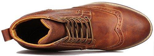 Pour Boots Marron Kunsto Bottes Homme xnqw1w