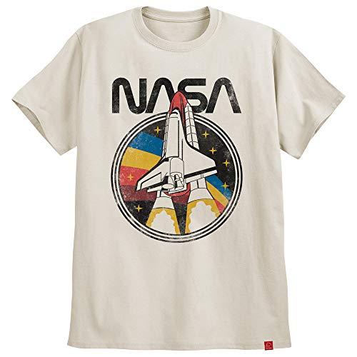 Camiseta Nasa Challenger Astronomia Camisa Geek Moda Tumblr (M, Off-White)