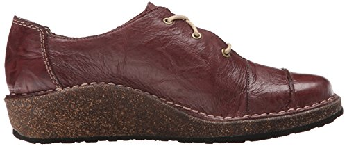 Aetrex Kerry Lace Up Oxford Merlot Voor Dames