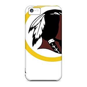 ErleneRobinson Iphone 5c Protective Hard Phone Cover Custom Beautiful Washington Redskins Image [CQl19521Lzmx]
