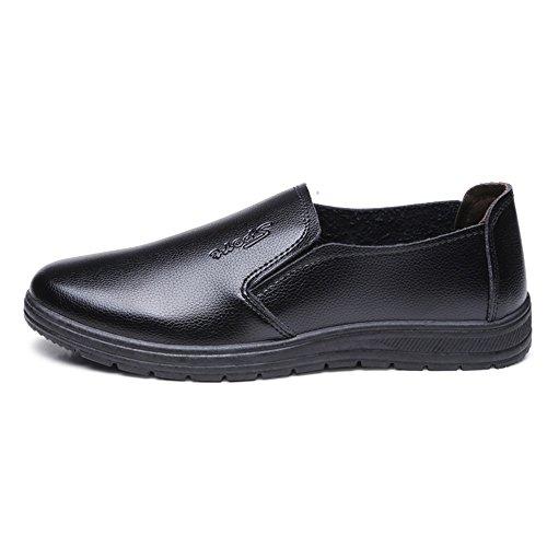 el conducción Viento Zapatos Marrón en 2018 Antideslizante Resistente al Suelas Hombre al para Aceite Mocasín shoes con Cómodo Mocasines de para Conducir Yajie Hombres y Blandas Agua para p8UxHwT