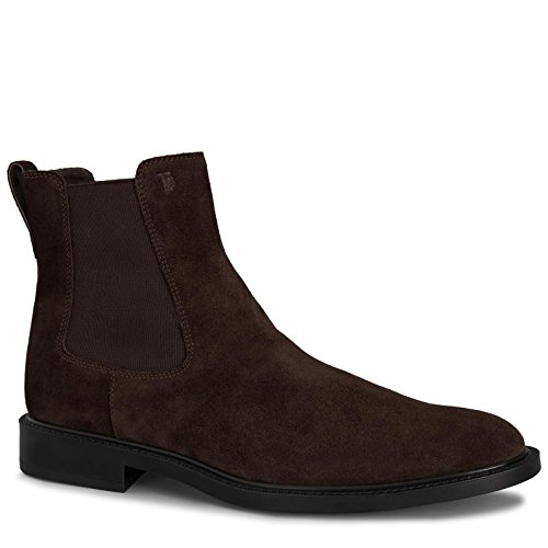 scamosciata Tods Stivaletto Marrone Stivaletto Tods pelle XXM45A00P20RE0 in qwawEX