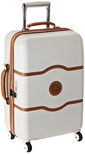 DELSEY Paris Delsey Luggage Chatelet 21 Inch Carry-On Spinner  Champagne  One ()