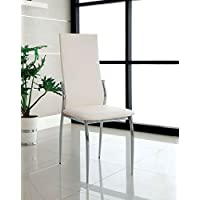 Chandler Parsons Chair (Set of 2) Finish: White