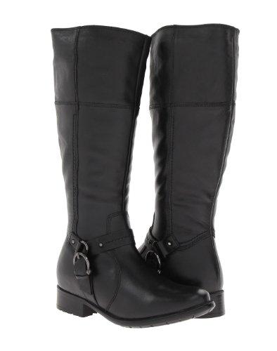 - CLARKS Women's, Plaza Pug Tall Shaft Boot Black 6 M
