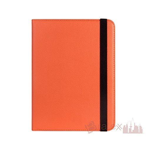 Bralexx Universal Tablet-Tasche für Blaupunkt ENDEAVOUR 1010 (26,3 cm (10 Zoll)) orange