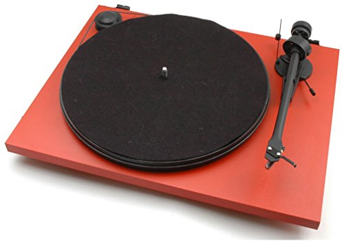 Pro-Ject - Essential USB II - Turntable - Matte Red