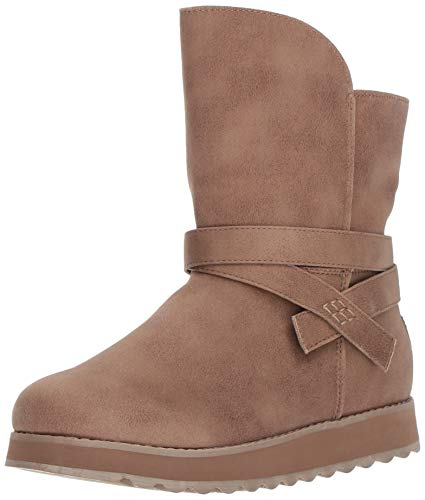 Wrap Boot Boots - Skechers Women's Keepsakes 2.0 - Mid Boot with Strap Wrap Fashion, TPE, 9 M US
