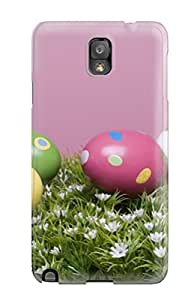 Series Skin Case Cover For Galaxy Note 3(happy Colorful Easter Eggs )