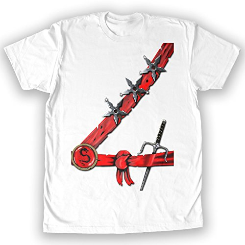 Death By Novelty - Ninja Halloween Men's Costume T-Shirt ()