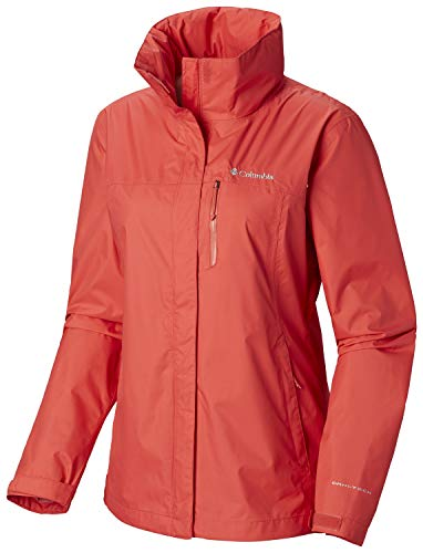 - Columbia Women's Pouration Jacket,  Red Coral,  Small