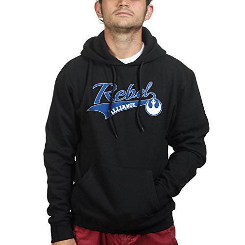Rebel Alliance College Hoodie XL Black (Xl Blk Helmet)