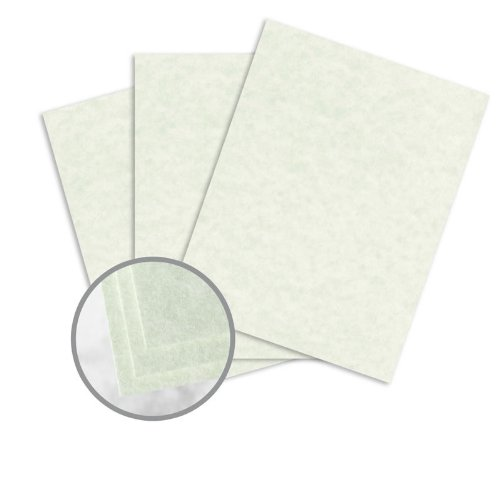 Astroparche Celadon Paper - 8 1/2 x 11 in 60 lb Text Vellum 30% Recycled 500 per Ream