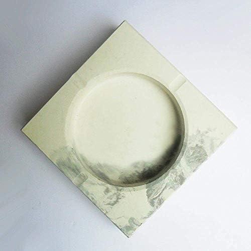SRX ふた外部および内部のセメント灰皿パーソナリティクリエイティブトレンド家庭用灰皿と屋内灰皿のための灰皿灰皿