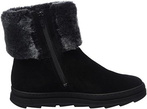 Sioux Nuska Wf, Dames Korte Schacht Laarzen Zwart (black)