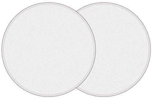 (McKay Door Knob Wall Shield Protector, Self-Adhesive (2 Piece Set))