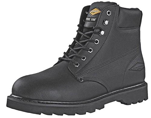 Workboot 6Inch Steeltoe Action size13 DIAMONDBACK Boots - Leather Steel Toe 655SS-13 hRaDSvC2