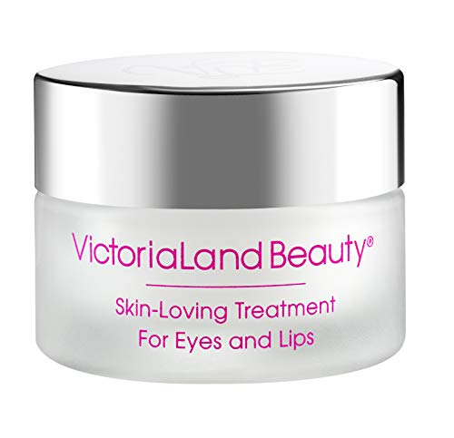 Skin-Loving Treatment for Eyes and Lips - Peptides, Rejuvenators, Firm and Smooth Eyes and Mouth (0.5oz) by VictoriaLand Beauty