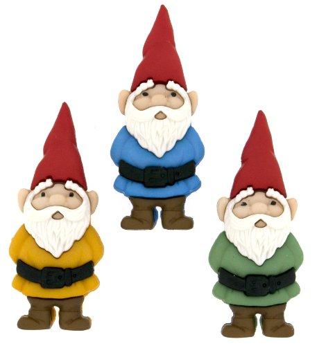 "Dress It Up 7696""Garden Gnomes Novelty Embellishments"