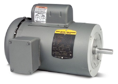 (Baldor VL3501 General Purpose AC Motor, Single Phase, 56C Frame, TEFC Enclosure, 33/100Hp Output, 1725rpm, 60Hz, 115/230V Voltage)