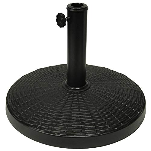 Blissun 22lb Heavy Duty Patio Market Umbrella Base - Base Resin Umbrella