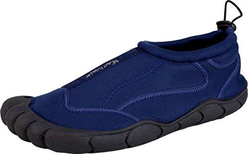 Bockstiegel Herren Neopren Aquaschuh Borkum, Farbe:blau;Größe:42