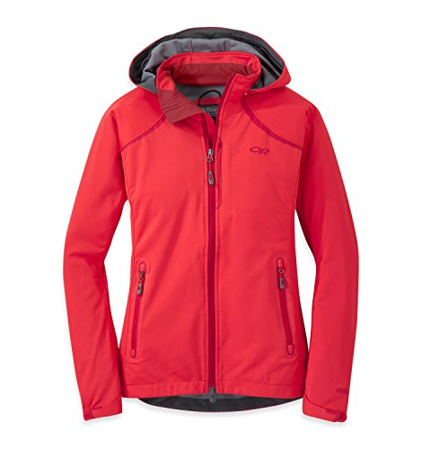 Outdoor Research Women's Linchpin Hooded Jacket, Flame, Small ()