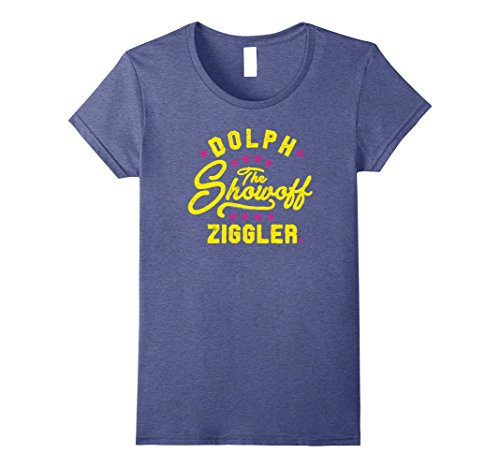 Womens WWE The Showoff Dolph Ziggler Fight Type XL Heather Blue (Ziggler Wwe T Shirts Dolph)