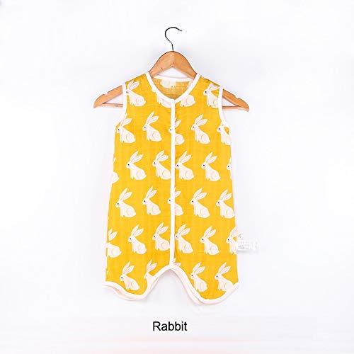 Amazon.com: Baby Sleeping Bag Muslin Cotton Sleeveless Sleep Sack ...