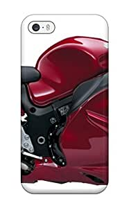Excellent Design Suzuki Hayabusa Red New Motorcycles Phone Case For Iphone 5/5s Premium Tpu Case