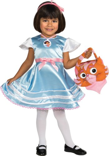 Rubies Dora The Explorer: Dora in Wonderland Costume, Small (Dora The Explorer Costumes)