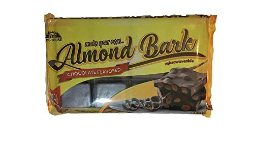 Log House Chocolate Flavored Almond Bark 24 oz Package ()