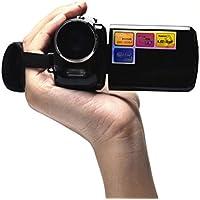 Kwok 1.8 Inch TFT 4X Digital Zoom Mini Video Camera (Kwok Photography series) (Black)