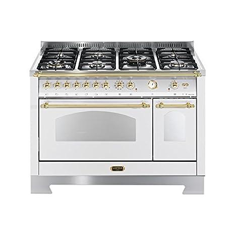 Lofra RBPD126MFT+E/2AEO Cucina freestanding Bianco Gas A ...