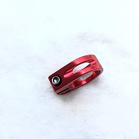 Selle de v/élo en aluminium Pince Vis Collier de serrage de selle Saddle Clamp 31,8/mm Carbo nenmy