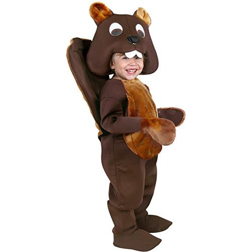 Baby Beaver Costume Brown