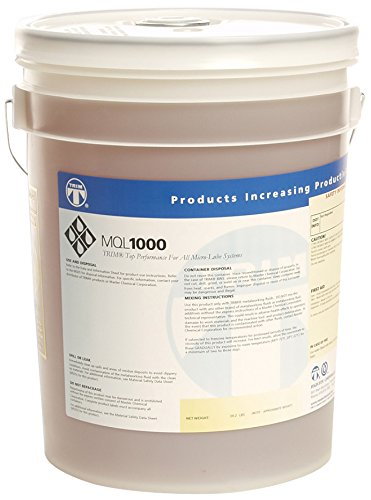 TRIM Cutting & Grinding Fluids MQL1000/5 Minimum Quantity Lubrication Fluid, 5 gal Pail by TRIM