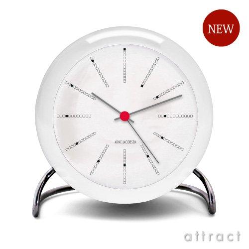 ROSENDAHL ローゼンダール Bankers バンカーズ Arne Jacobsen アルネヤコブセン Table Clock テーブルクロック Φ110mm LED灯 アラーム機能搭載 (置時計 目覚まし時計) B00CKHB5D2 Bankers(バンカーズ) Bankers(バンカーズ)